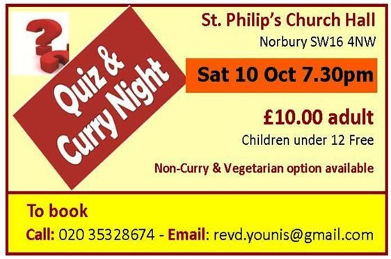 quiz and curry
