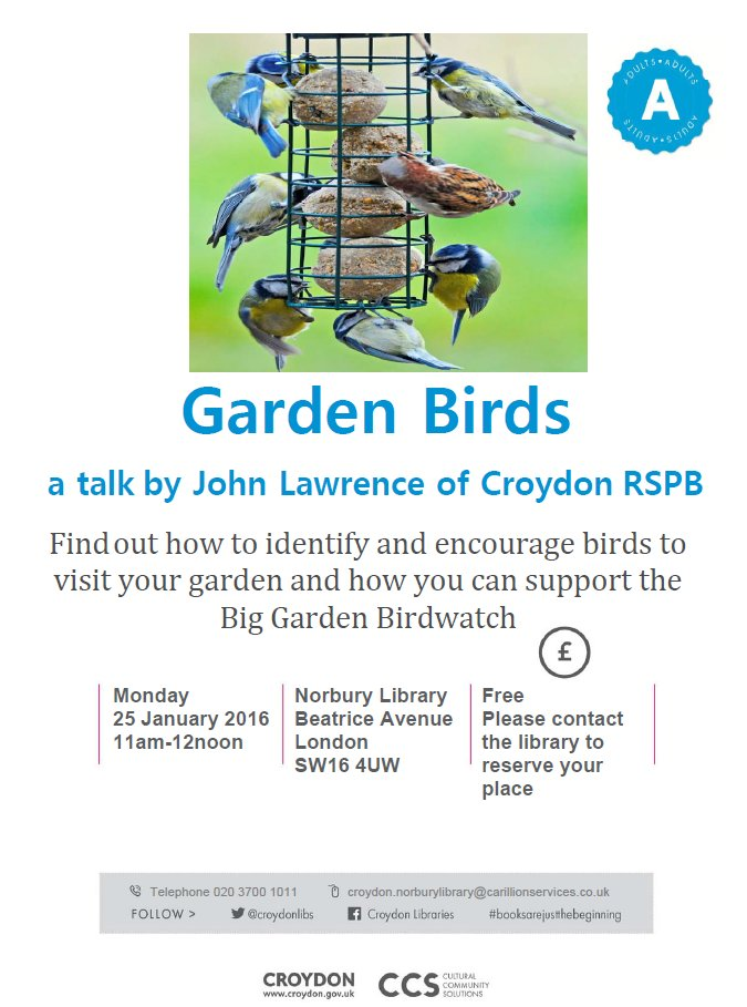 Garden Birds talk-NOR
