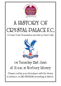History of Crystal Palace FC